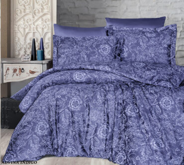 """Постельное белье """"Advina Indigo"""" Satin Cotton :: First Choice"""