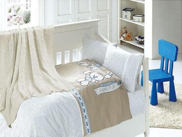 """Детский постельный набор в кроватку """"Baby Blue"""" Nirvana :: First Choice"""