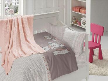 """Детский постельный набор в кроватку """"Baby Powder"""" Nirvana :: First Choice"""