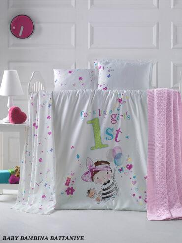 """Постельное белье """"Bambina"""" в кроватку :: LaRomano"""