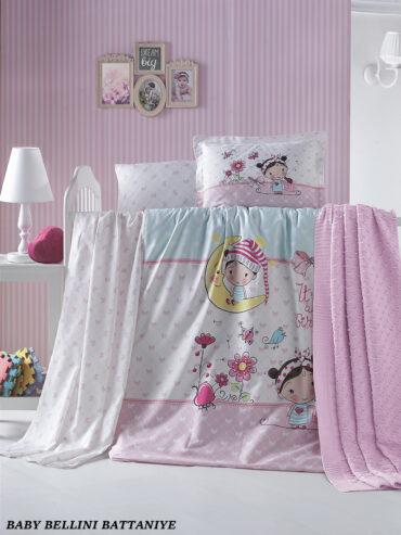 """Постельное белье """"Bellini"""" в кроватку+плед :: LaRomano"""