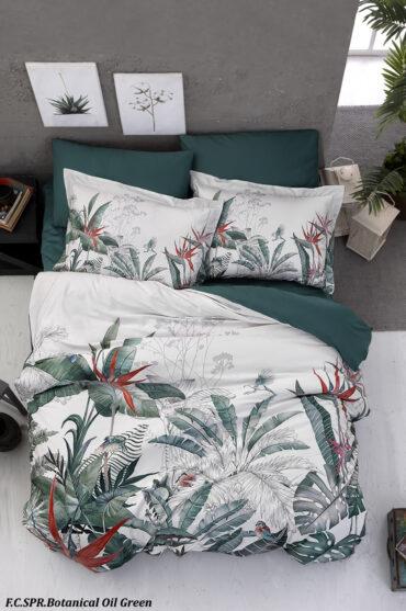 """Постельное белье """"Batanical Oil Green"""" Superior сатин Digital 250 TC :: First Choice"""