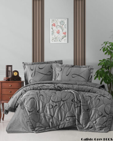 "Летний набор Softness Quilt Set ""Calisto Grey"" :: First Choice"