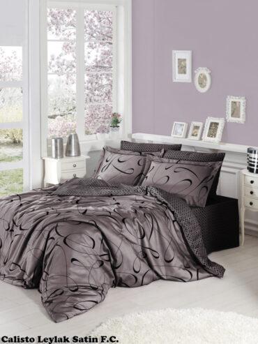 """Постельное белье """"Calisto Lilac"""" Satin Cotton :: First Choice"""