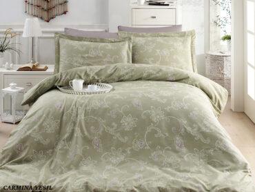 """Постельное белье """"Carmina Green"""" Satin Cotton :: First Choice"""