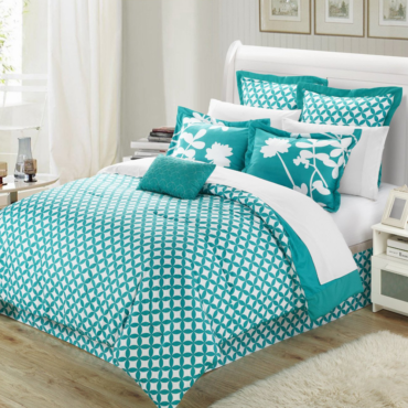 Chic Home Iris 7 Piece Comforter Set with Four Shams