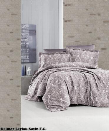 """Постельное белье """"Delmor Lilac"""" Satin Cotton :: First Choice"""