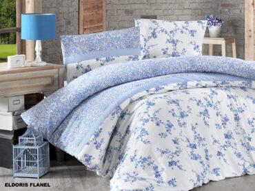 """Постельное белье Байка Flannel """"Eldoris Blue"""" :: First Choice"""