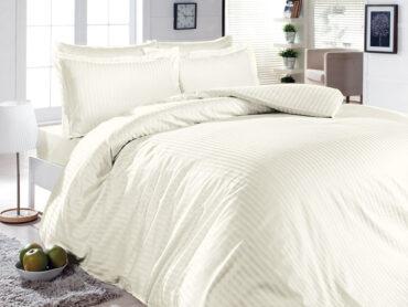 """Постельное белье """"Lines Cream"""" Satin Cotton :: First Choice"""