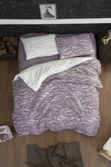 "Постельное белье Байка Flannel ""Larnell Lilac"" :: First Choice"