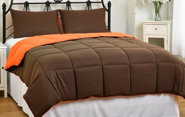 Lightweight Reversible Down Alternative Summer Comforter