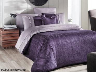 "Постельное белье ""London Purple"" Vip Moonlight Satin :: First Choice"