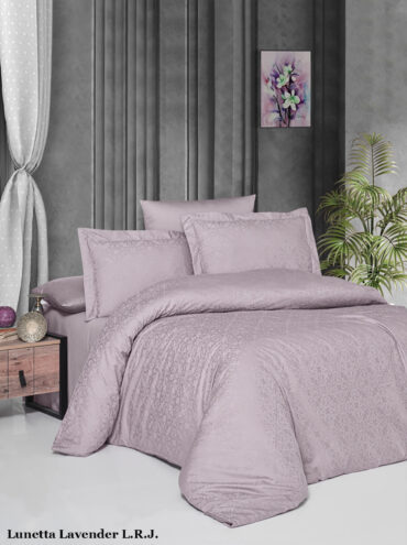 "Постельное белье ""Lunetta Lavender"" Jacquard Сатин :: LaRomano"
