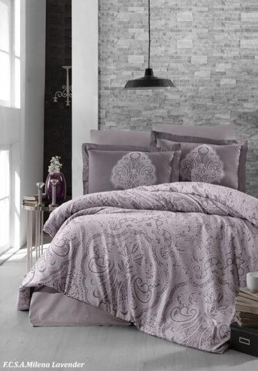 """Постельное белье """"Milena Lavender"""" Satin Cotton :: First Choice"""