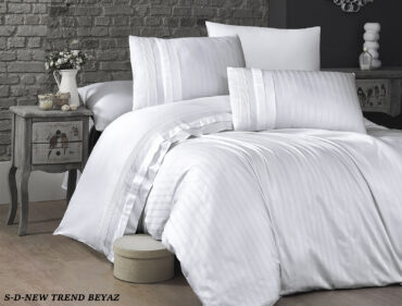 "Постельное белье ""New Trend White"" Satin Deluxe :: First Choice"