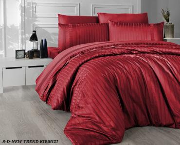 "Постельное белье ""New Trend Red"" Satin Deluxe :: First Choice"