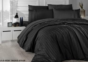"Постельное белье ""New Trend Black"" Satin Deluxe :: First Choice"