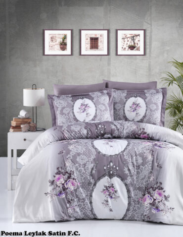 """Постельное белье """"Poema Lilac"""" Satin Cotton :: First Choice"""
