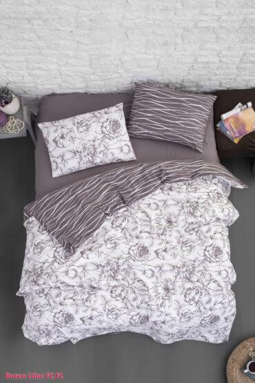 "Постельное белье Байка Flannel ""Rozen Lilac"" :: First Choice"