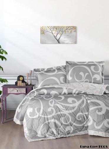 "Летний набор Softness Quilt Set ""Ruya Grey"" :: First Choice"
