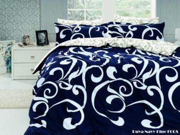 "Летний набор Softness Quilt Set ""Ruya Navy Blue"" :: First Choice"