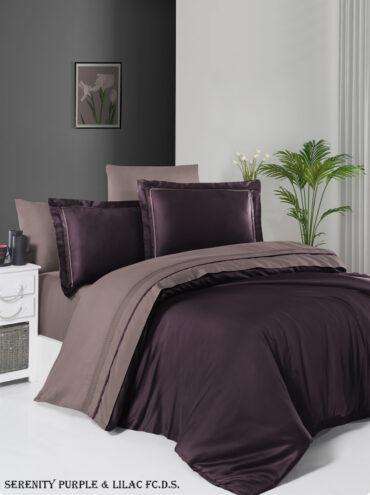 "Постельное белье ""Serenity Purple & Lilac"" Satin Deluxe :: First Choice"