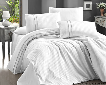 "Постельное белье ""Stripe Style White"" Satin Deluxe :: First Choice"