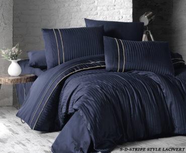 "Постельное белье ""Stripe Style Navy Blue"" Satin Deluxe :: First Choice"