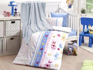 """Детский постельный набор в кроватку """"Sweet Toys Blue"""" Nirvana :: First Choice"""